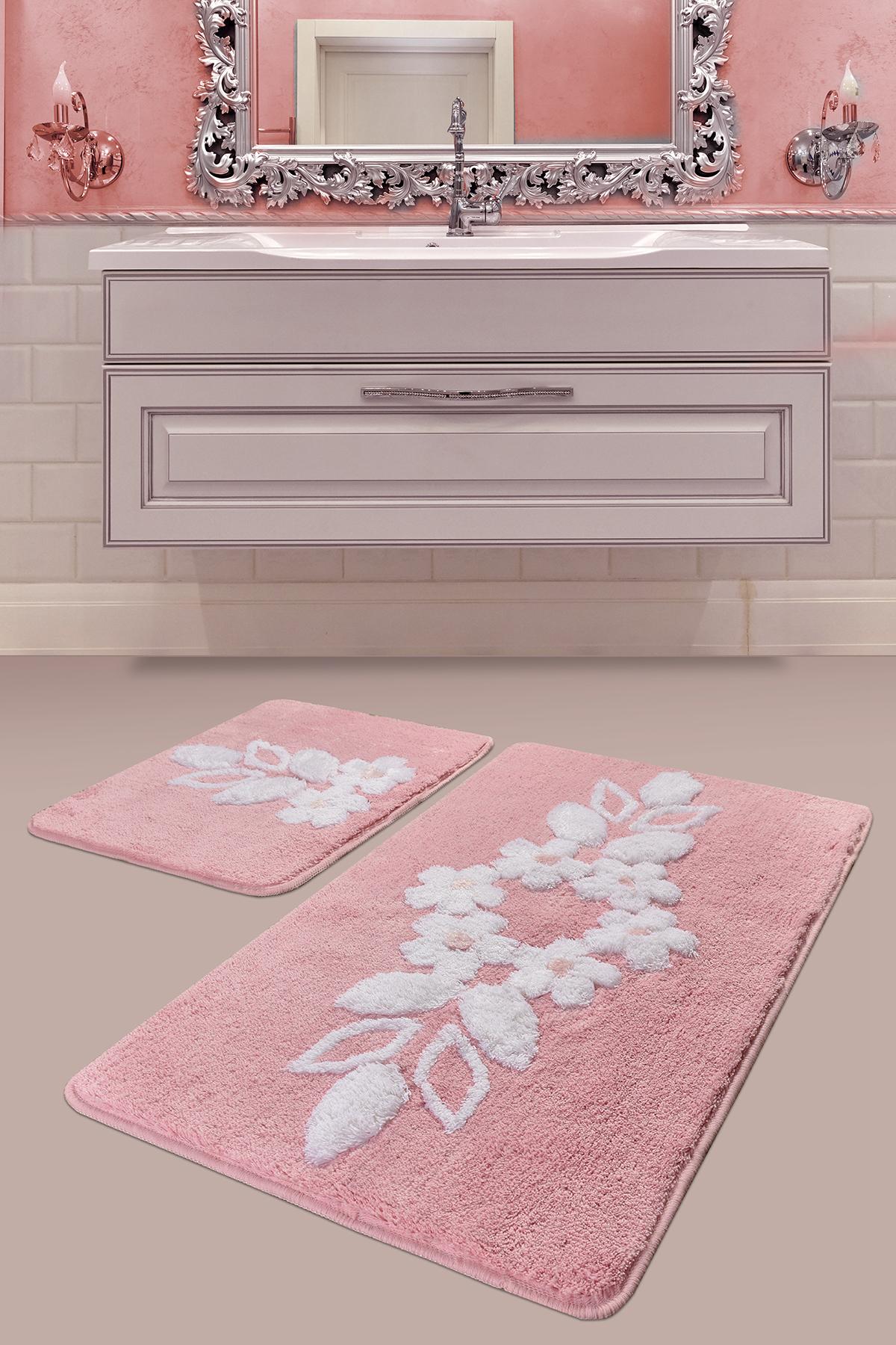 Коврик для ванной DO&CO (60Х100 см/50x60 см) BELLA