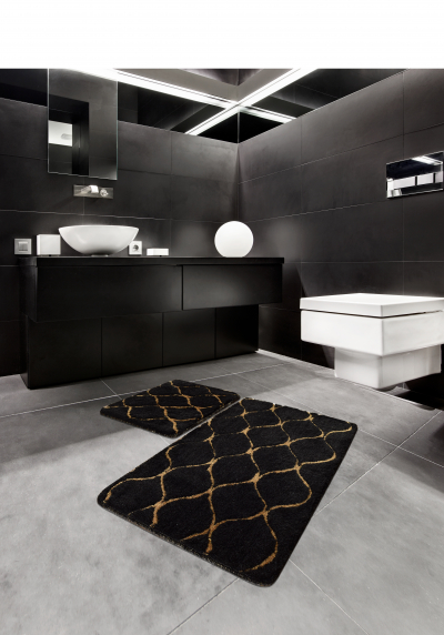 Коврик для ванной DO&CO (60Х100 см/50x60 см) INFINITY