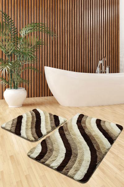 Коврик для ванной DO&CO (60Х100 см/50x60 см) COLORFUL