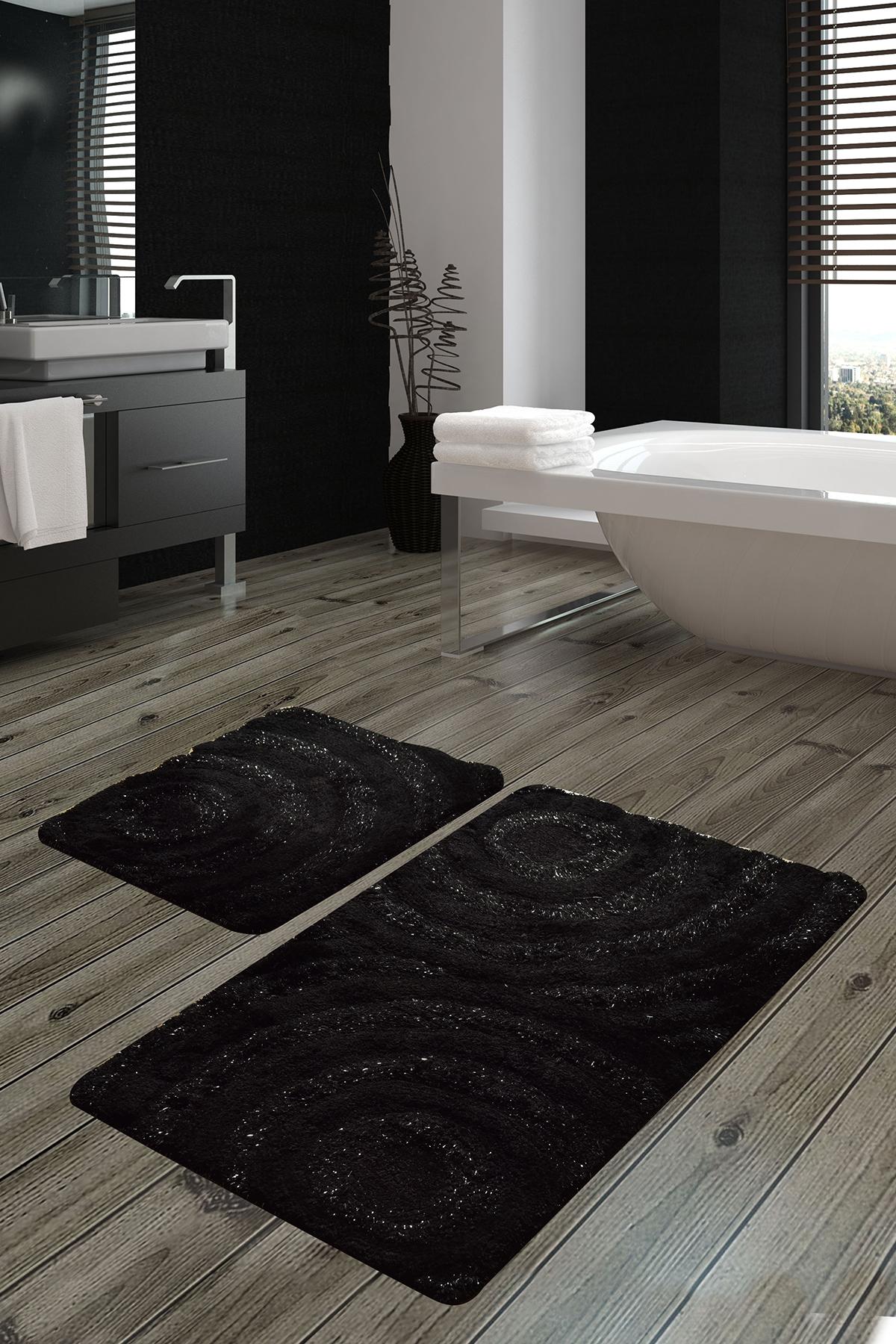 Коврик для ванной DO&CO (60Х100 см/50x60 см) WAVE