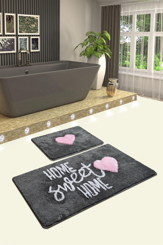 Коврик для ванной DO&CO (60Х100 см/50x60 см) SEWEET