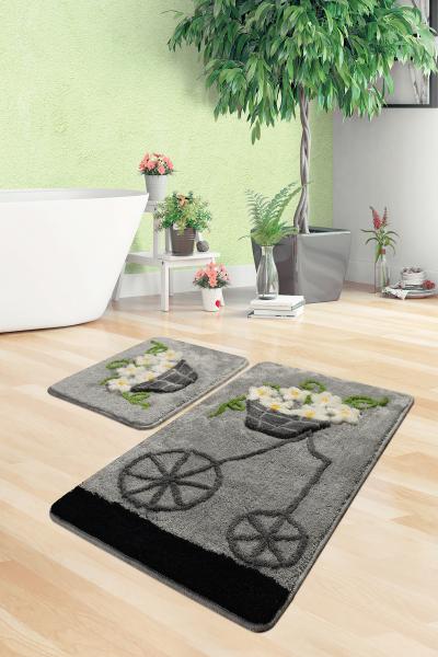 Коврик для ванной DO&CO (60Х100 см/50x60 см) ALACATI